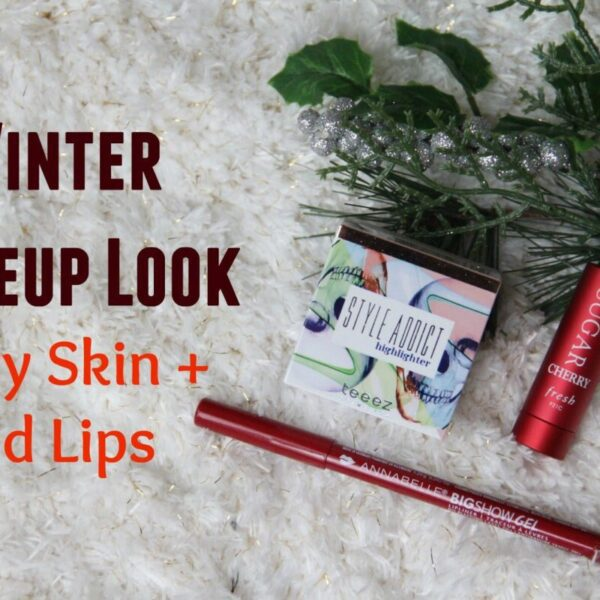 glowing-skin-Winter Makeup Look