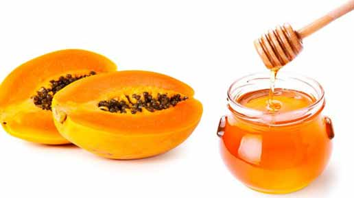 homemade-papaya-honey-face-pack