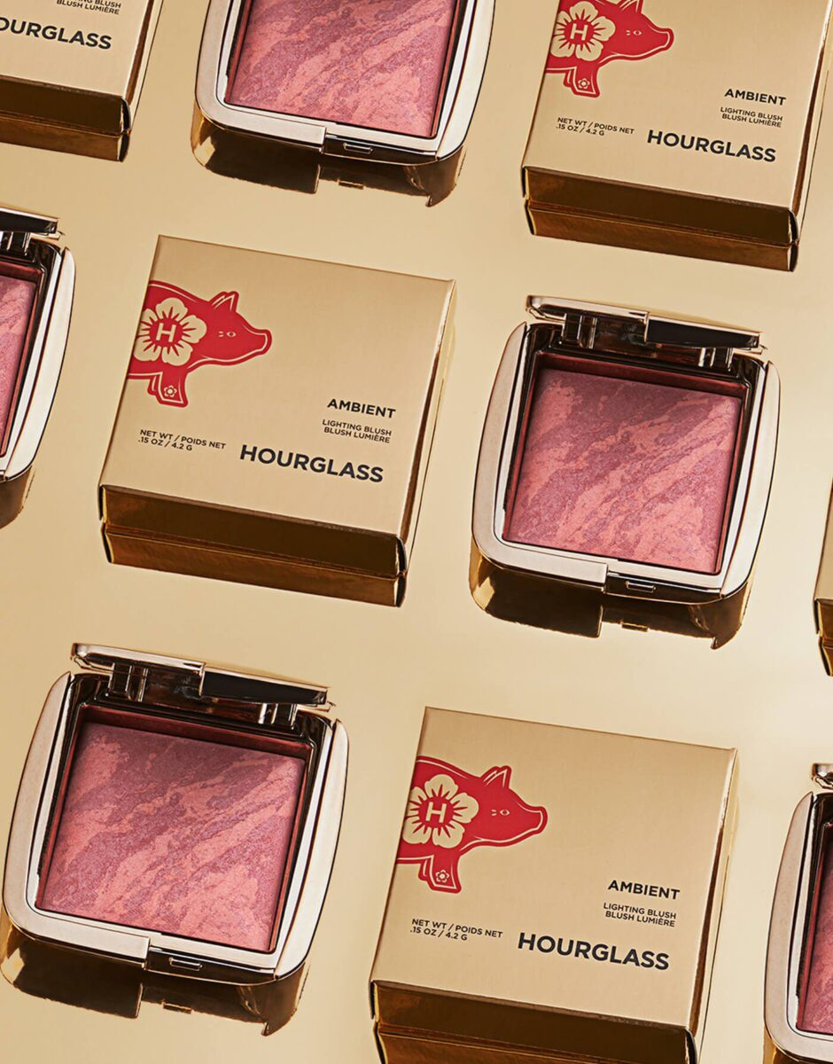 Hourglass Ambient Lighting Lunar New Year Blush Packaging