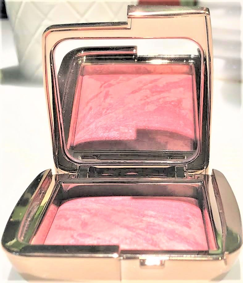 HOURGLASS AMBIENT LIGHTING LUNAR NEW YEAR BLUSH COMPACT OPENED