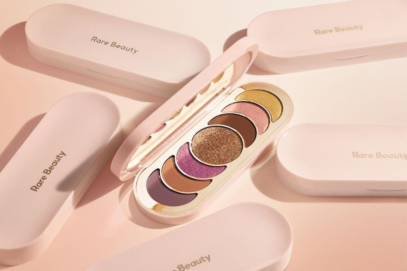 rare beauty discovery palette true to myself compact outside and inside