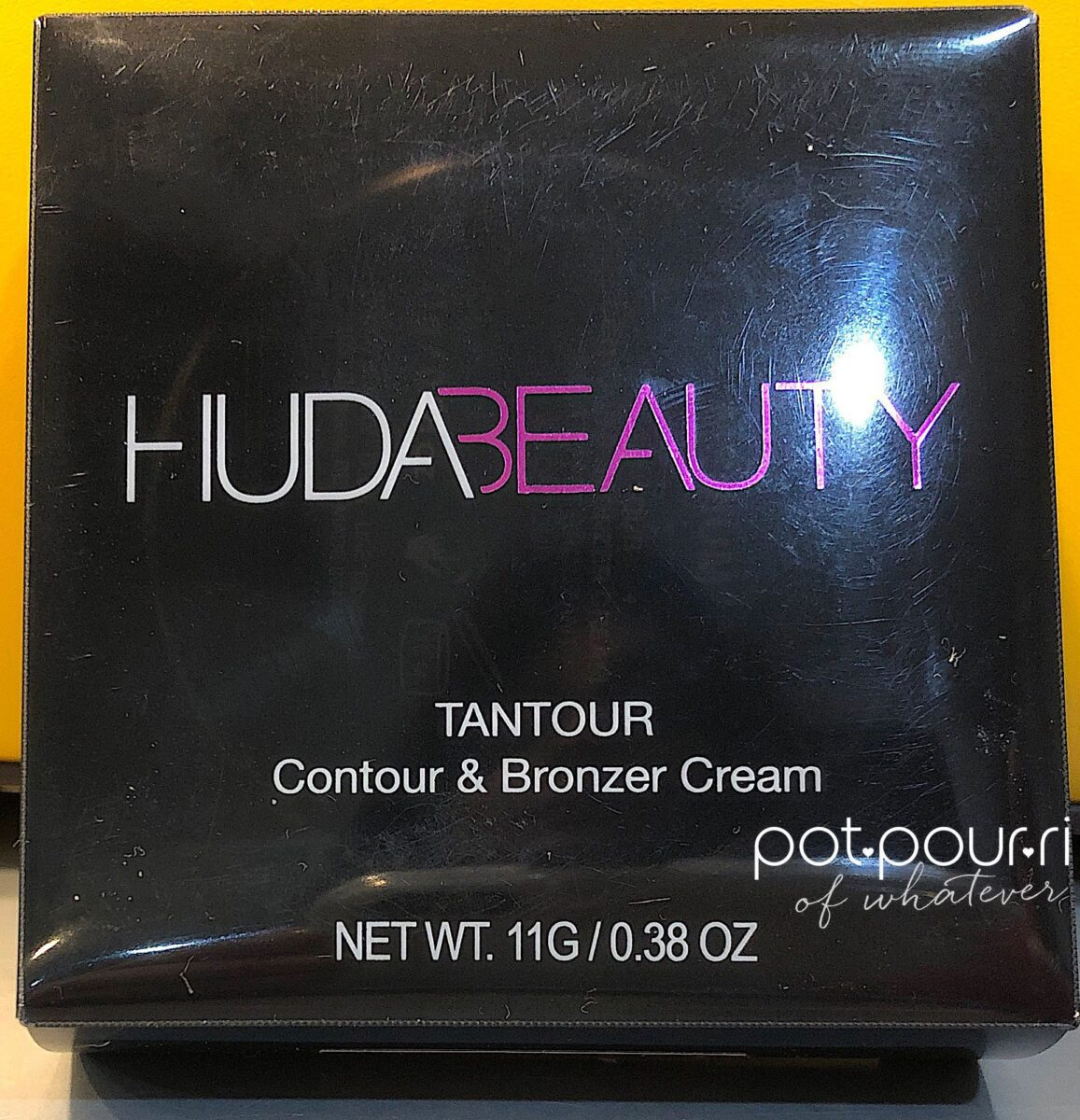 HUDA TANTOUR PLASTIC PACKAGING OUTER BOX