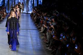 CLASSIC BLUE SEEN ON THE RUNWAYS