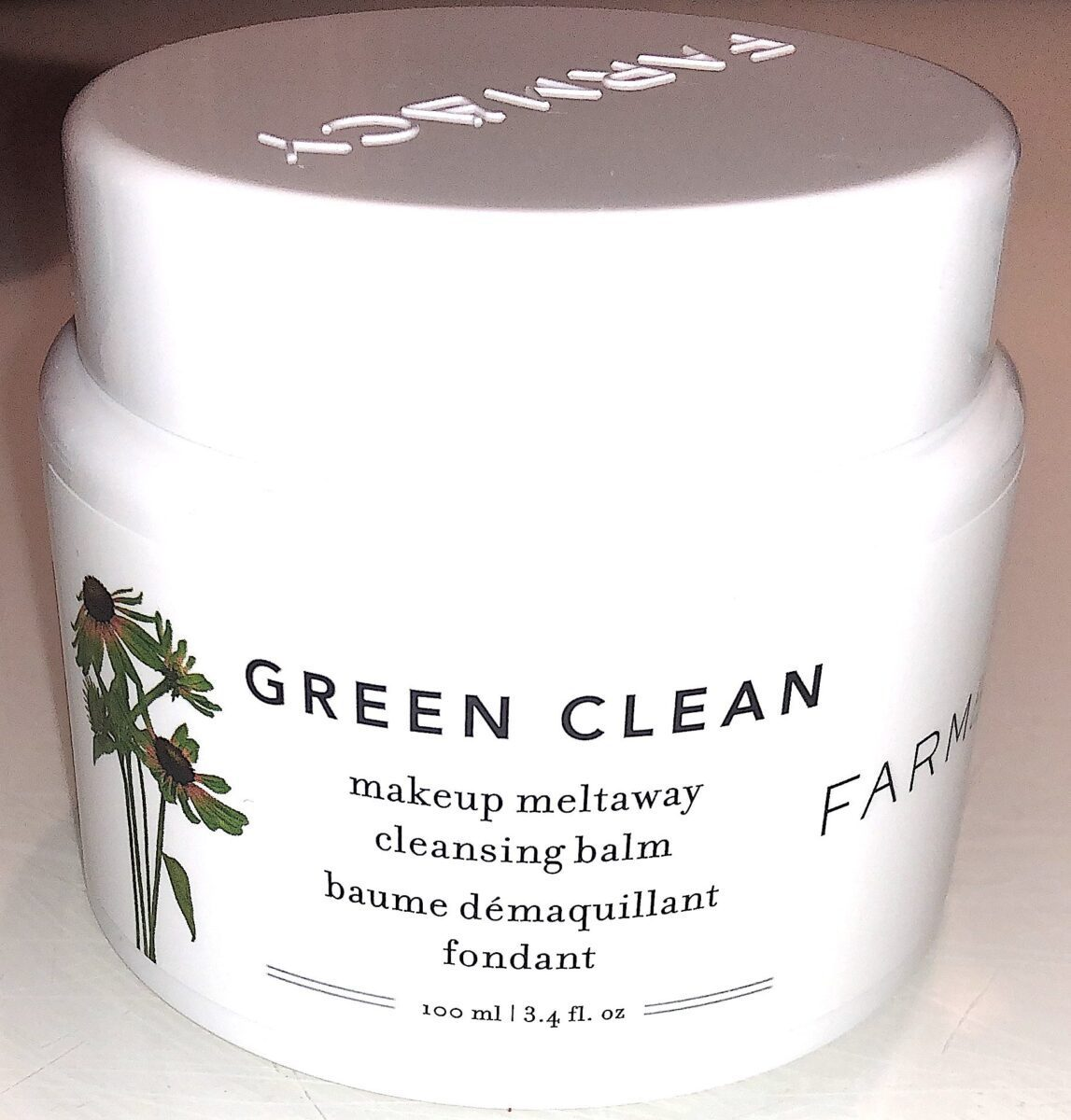 THE GREEN CLEAN MAKEUP MELTAWAY CLEANING BALM JAR
