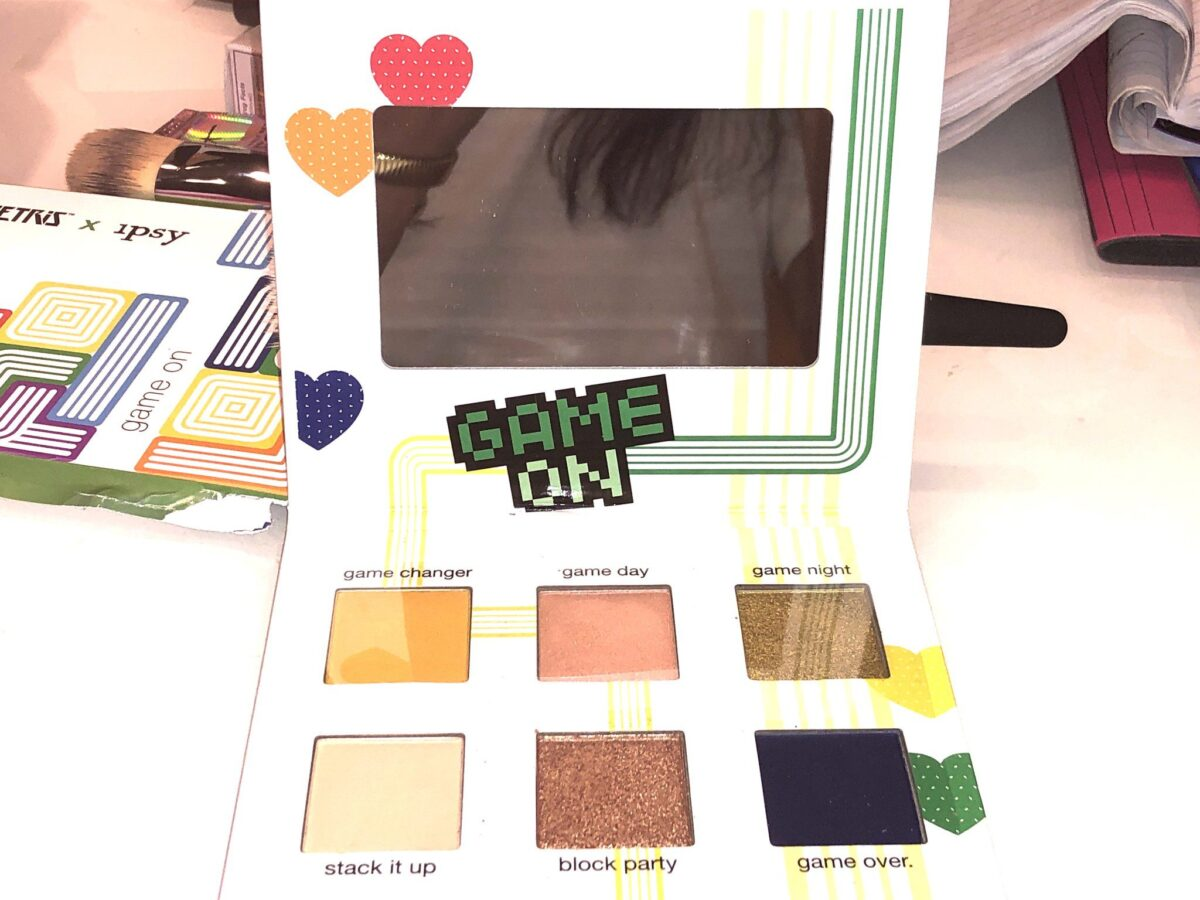 INSIDE THE GAME ON EYESHADOW PALETTE