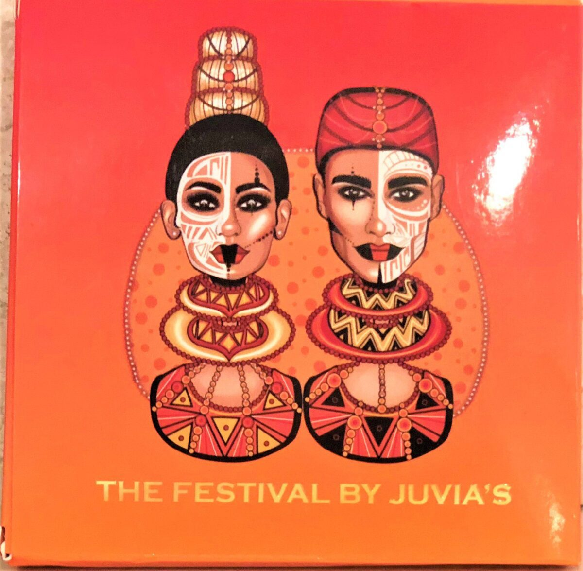 JUVIA'S PLACE FESTIVAL COLLECTION PACKAGING EYE SHADOW BOX