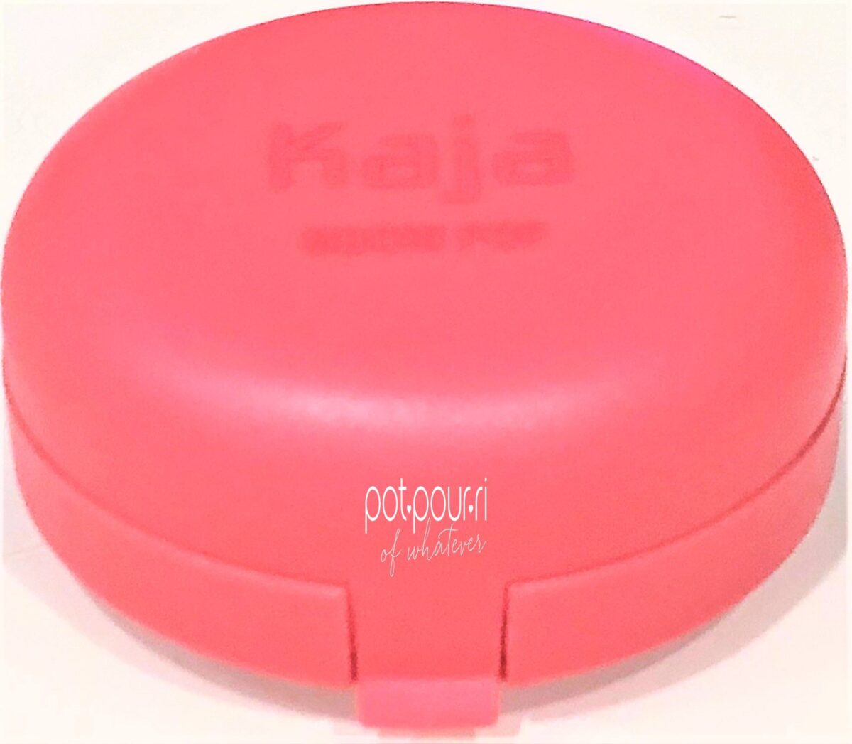 KAJA COMPACT SAME SHADE AS BLUSH INSIDE