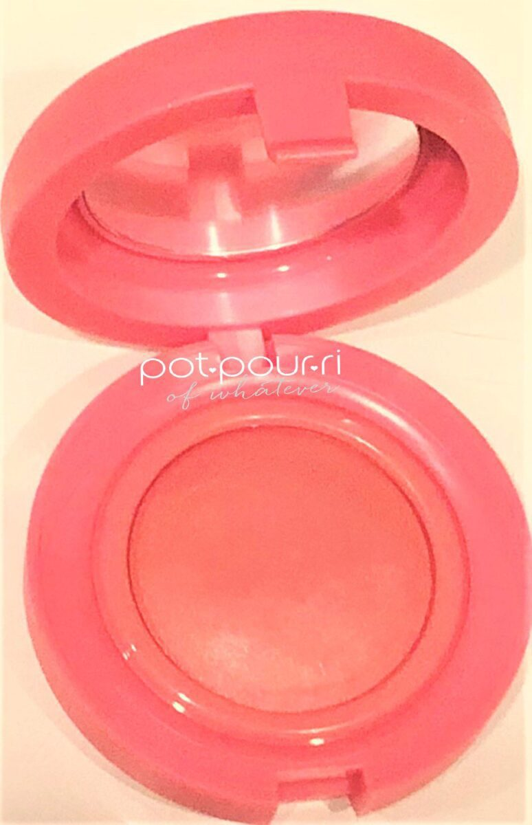 KAJA NEUTRAL DUSTY ROSE MIRROR ON TOP BLUSH ON BOTTOM