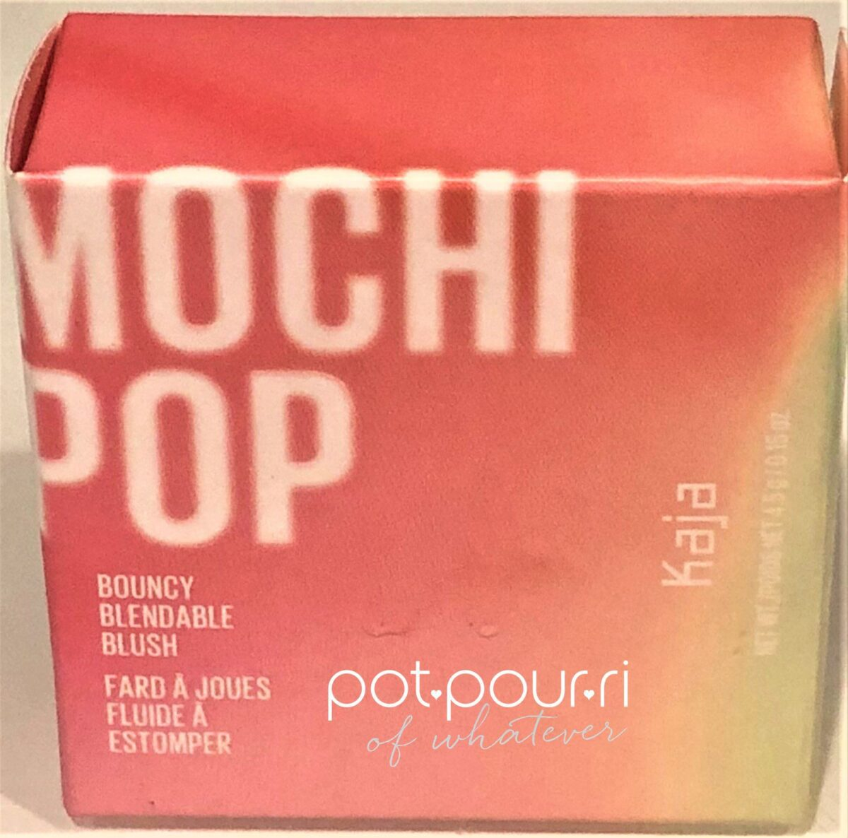 KAJA MOJI POP PACKAGING
