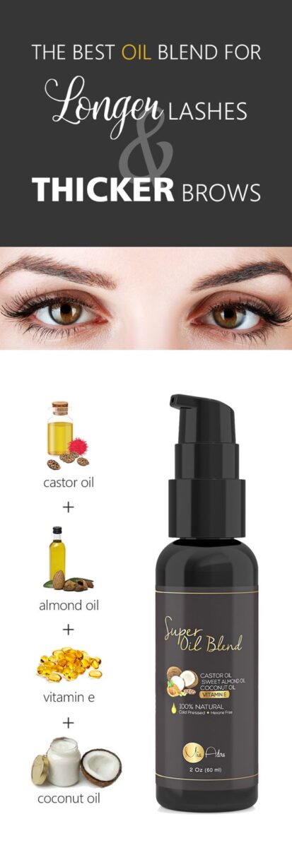 Tip Natural Ways To Thicken Lengthen And Grow Your Own Lashes
