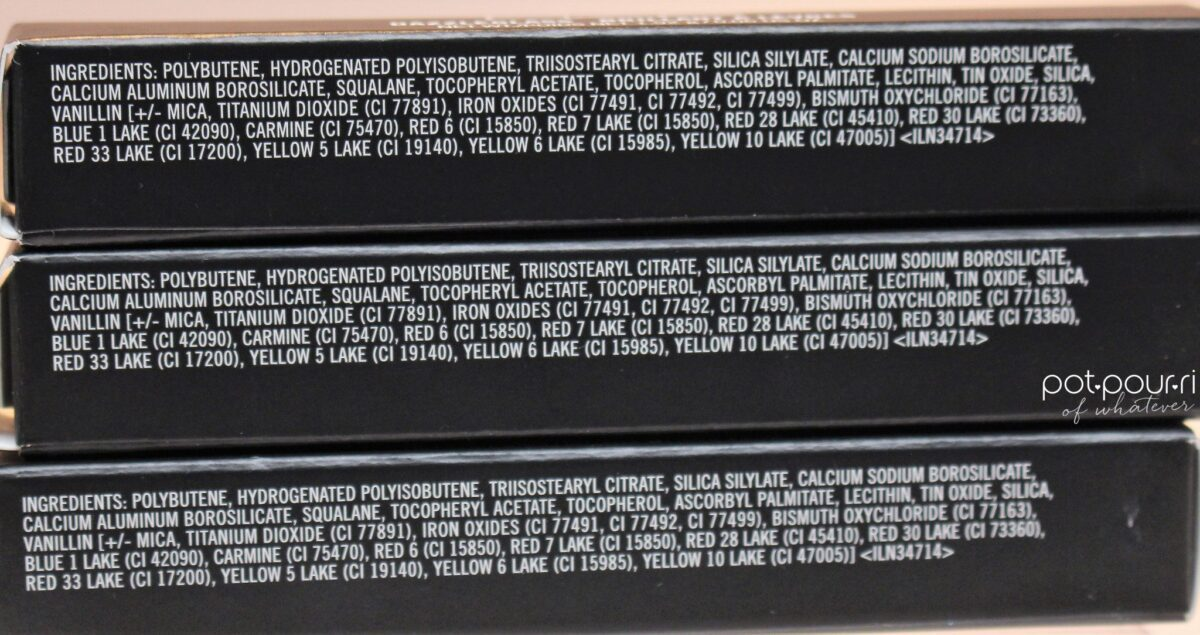 Mac Dazzleglass ingredients