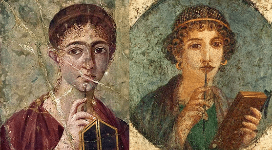Ancient Roman Women and their makeup