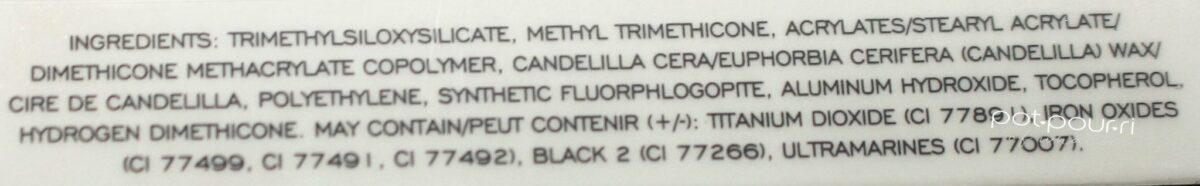 fineliner ingredients