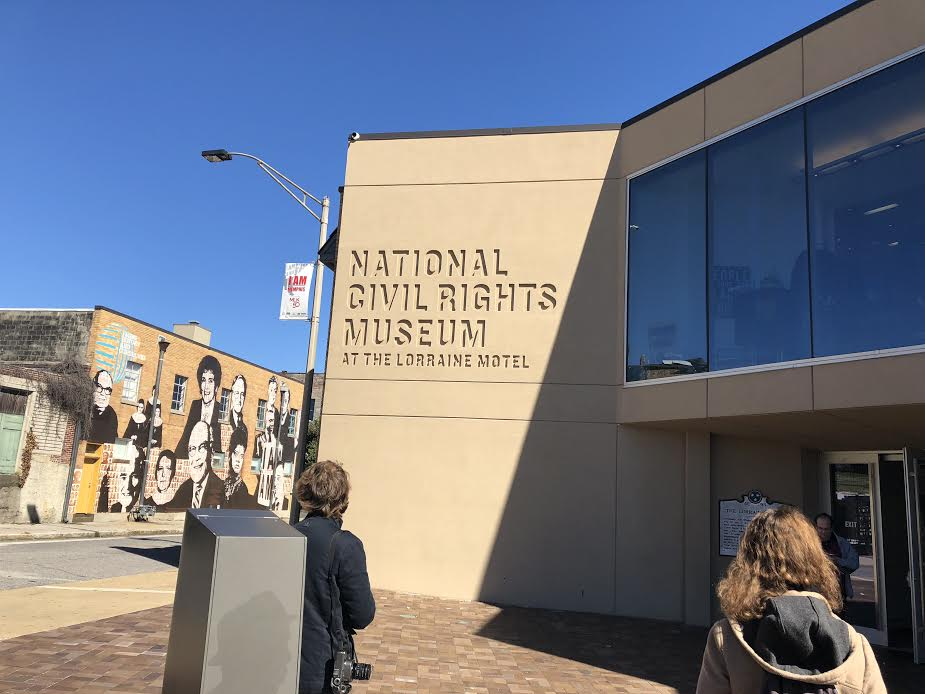 THE SITE IS NOW THE NATIONAL CIVIL RIGHTS MUSEUM