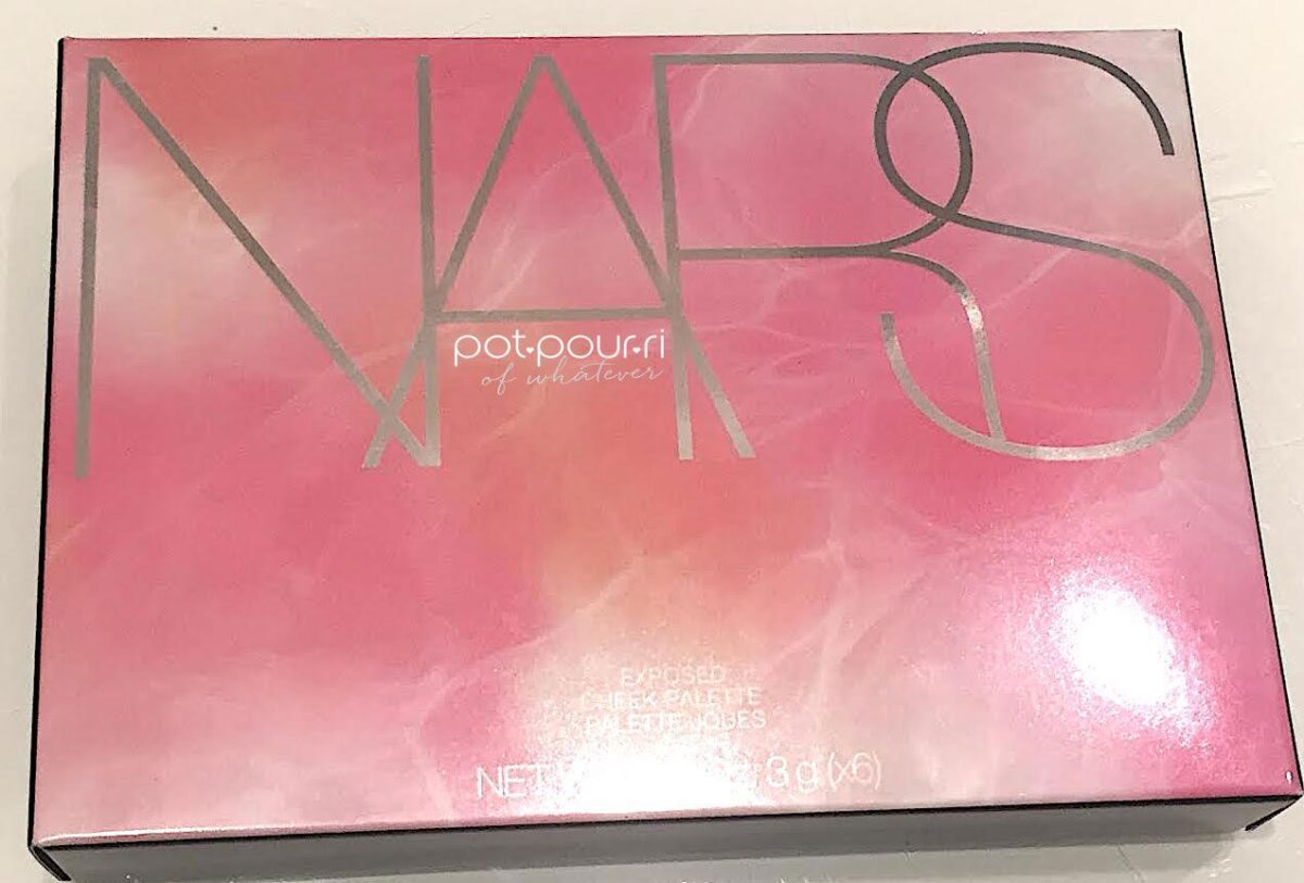 NARS EXPOSED CHEEK PALETTE OUTER BOX