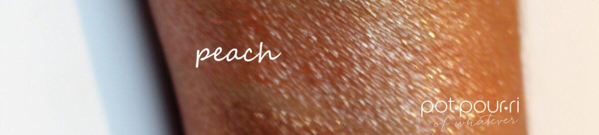 peach swatch