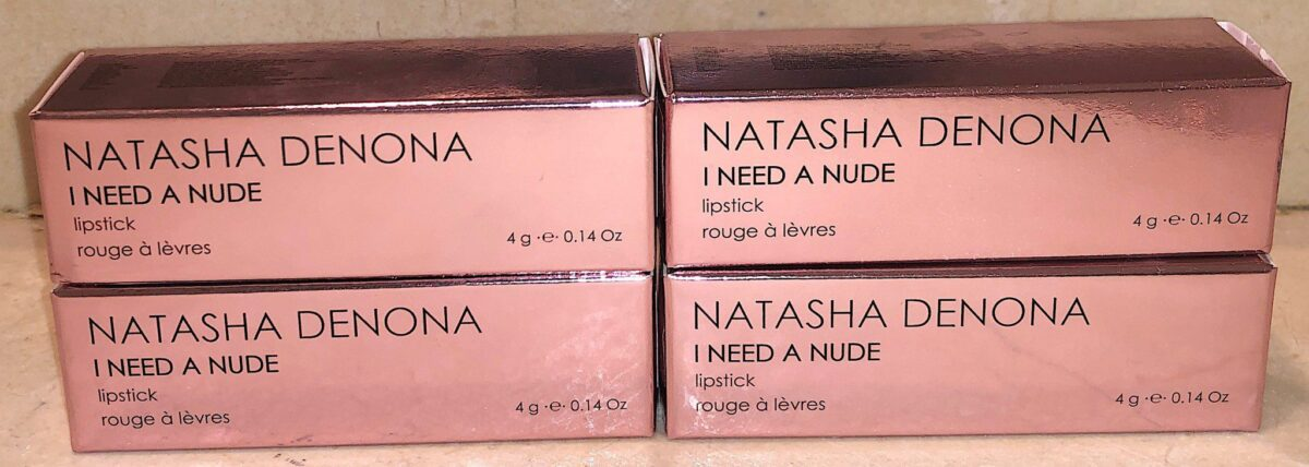 NATASHA DENONA I NEED NUDE LIPSTICK PACKAGING BOX
