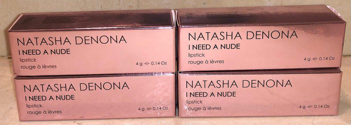 NATASHA DENONA I NEED NUDE LIPSTICK PACKAGING BOX