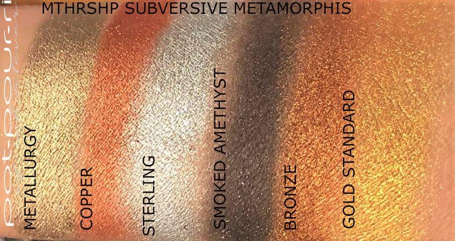 SWATCHES SUBVERSIVE METAMORPHIS