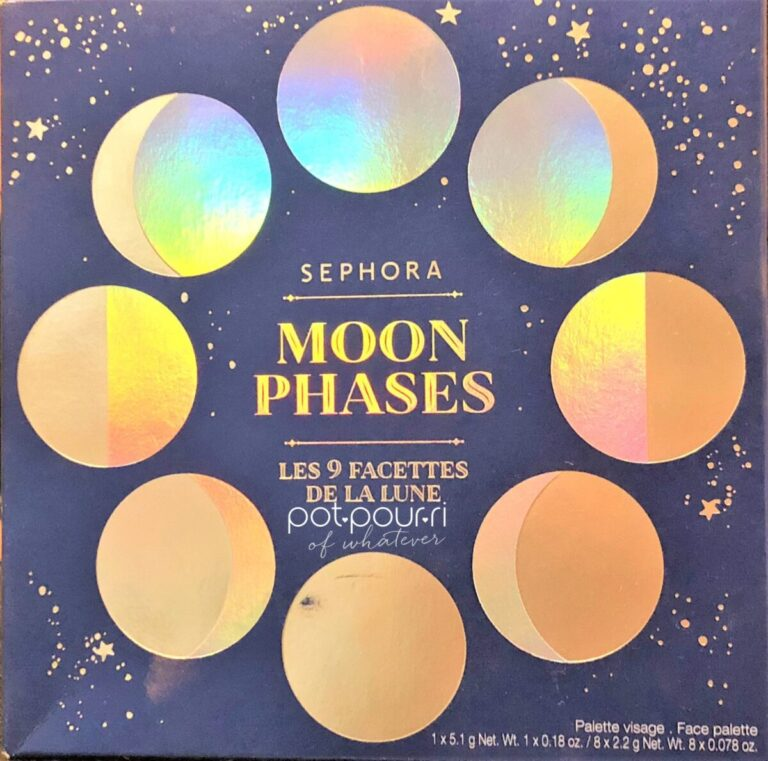SEPHORA MOON PHASES BLUSH PALETTE PACKAGING
