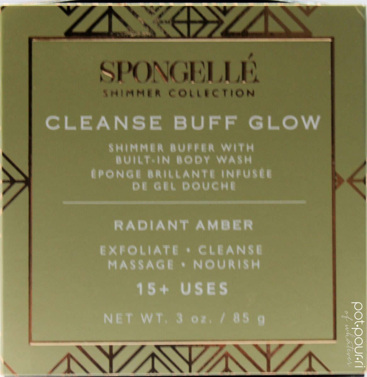Spongelle-Body Wash Buffer in Radiant Amber