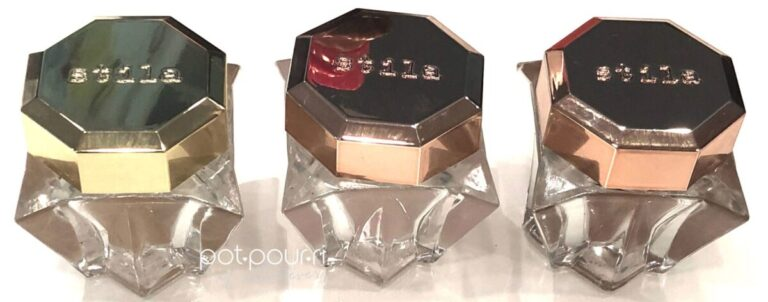 STILA LINGERIE SOUFFLE SKIN PERFECTING PRIMER AND COLOR JARS