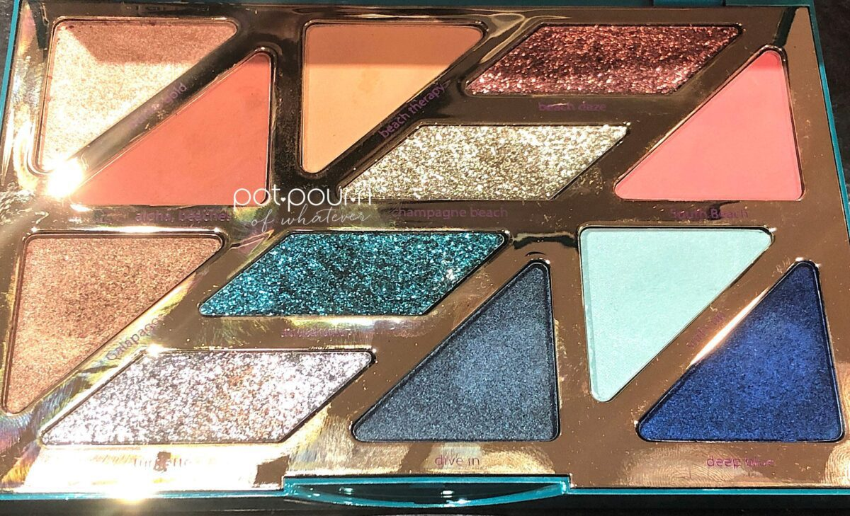 TWELVE SHADES FOR TARTE HIGH TIDES LOW VIBES EYESHADOW PALETTE