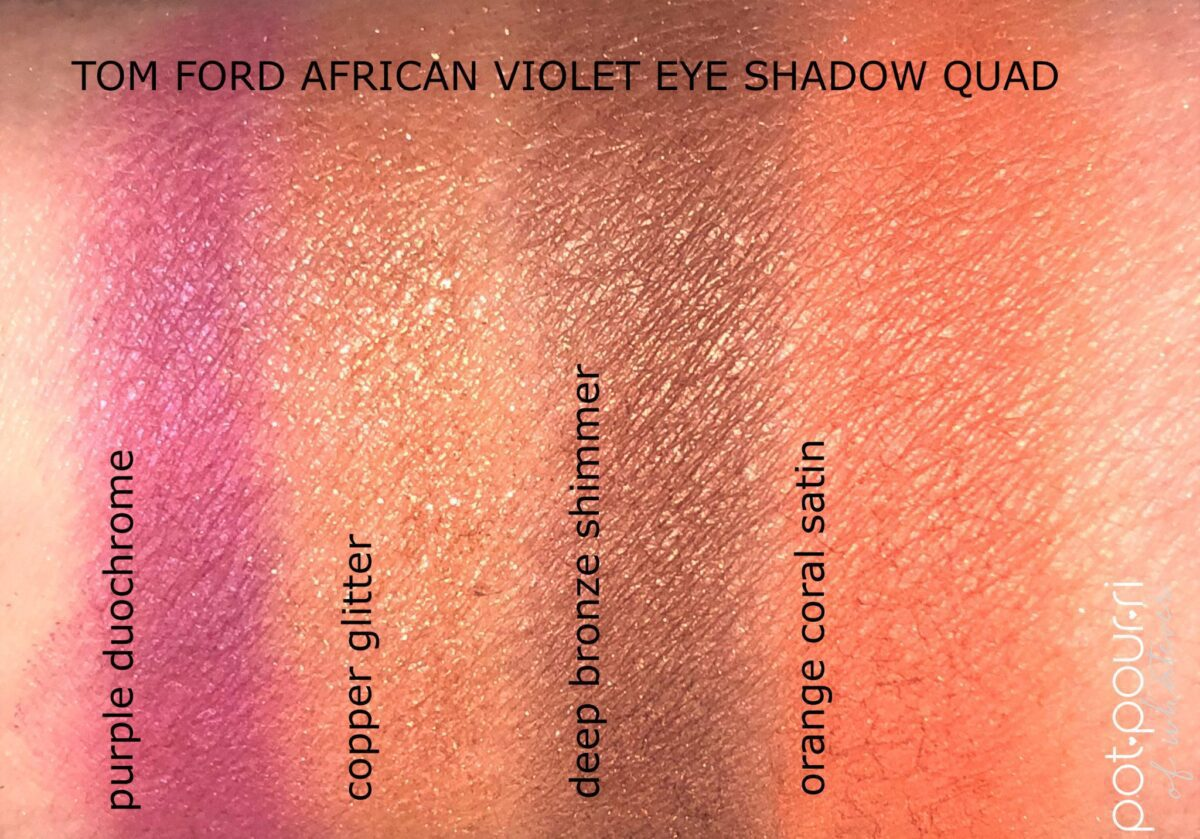 AFRICAN VIOLET SWATCHES