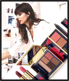 Violette Poppy Sauvage Capsule collection for Estee Lauder
