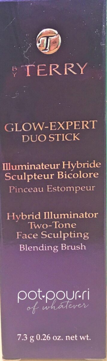 BY TERRY GLOW EXPERT DUO STICK PACKAGING BOX