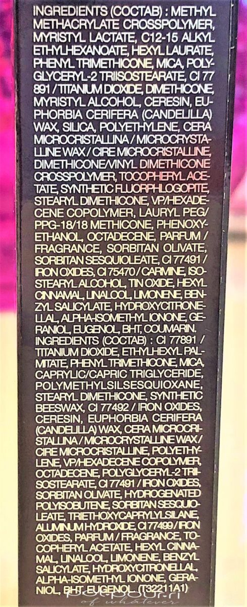 BY TERRY NUDE DUO STICK INGREDIENTS