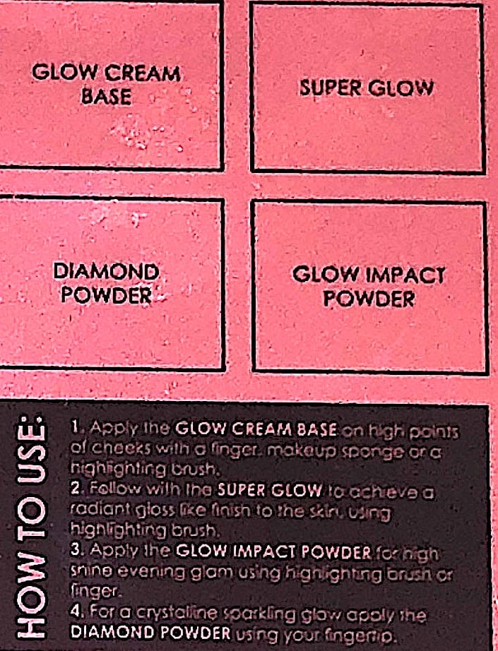 HOW TO USE THE LOVE GLOW CHEEK PALETTE